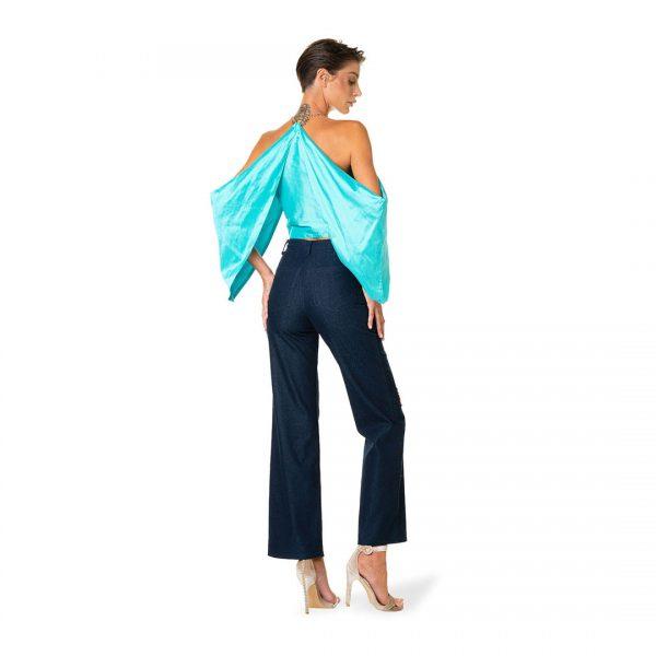 blusa-taffeta-seta-e-catena-oro-jeans-ricamati-federico-pilia-milano