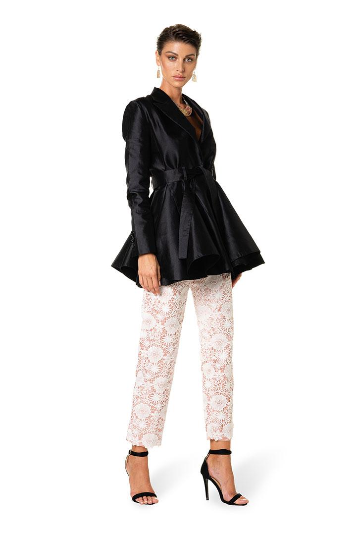 giacca-pantalone-raso-pizzo-donna-federico-pilia-milano