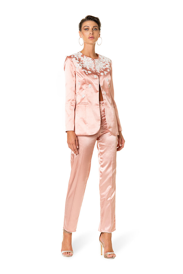 giacca-raso-con-ricami-pantalone-raso-donna-federico-pilia-milano