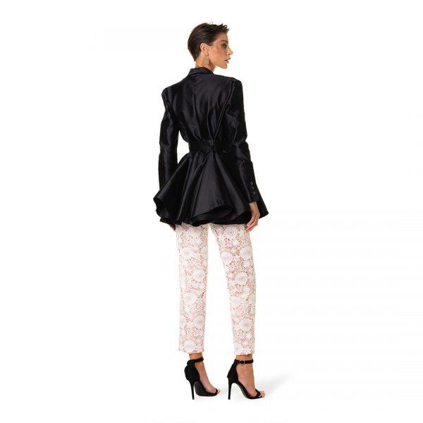 giacca-stile-farfalla-mikado-pantalone-raso-pizzo-donna-federico-pilia-milano